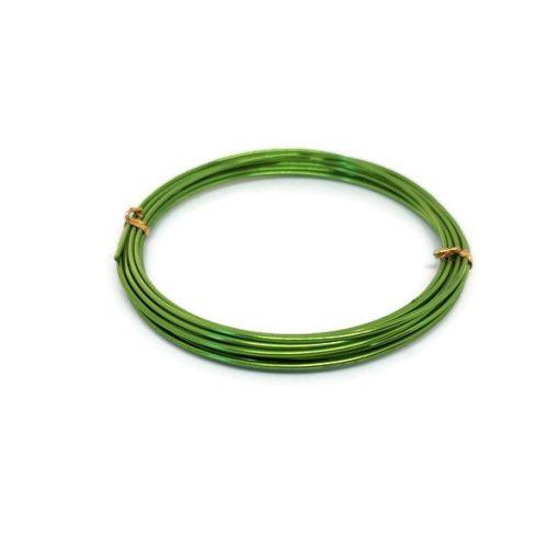 0,9 mm-es zöld ékszerdrót