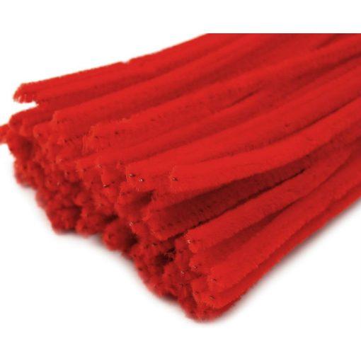Piros zsenília drót