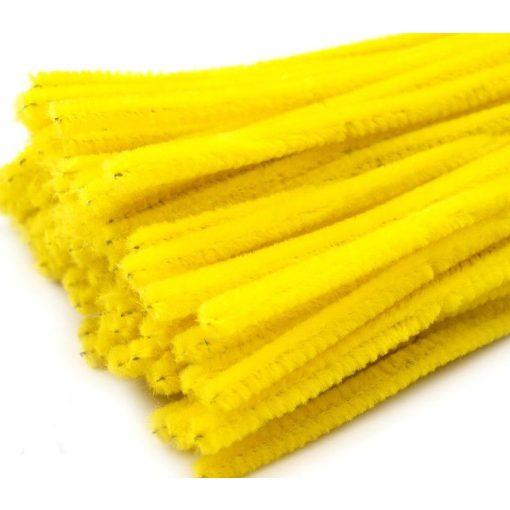 Sárga zsenília drót