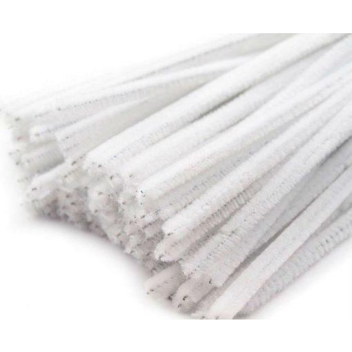 Fehér zsenília drót