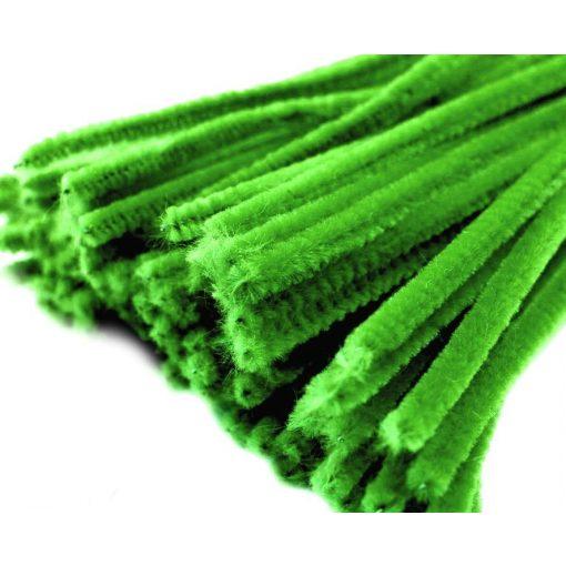 Zöld zsenília drót