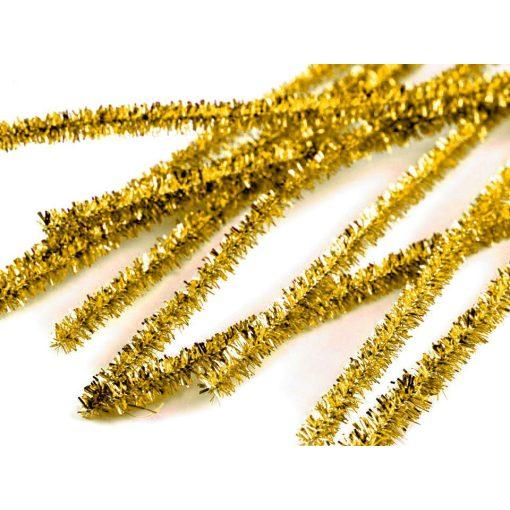 Arany csillogó zsenília drót